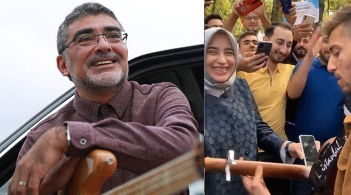 Erdoğan'a 'Gençler sizin için yapmış' denilen bestenin sahibinden tepki