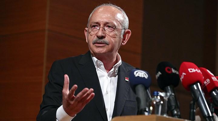 Kılıçdaroğlu: İklim değişikliği insanın doğaya zulmetmesinden kaynaklanıyor