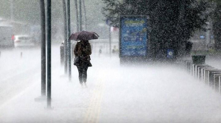 Meteoroloji'den İstanbul için 'çok kuvvetli' yağış uyarısı
