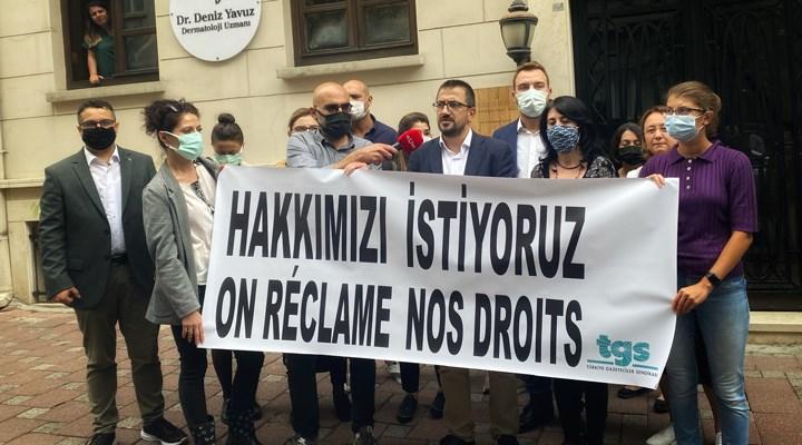AFP'nin Türkiye bürosuna grev kararı asıldı
