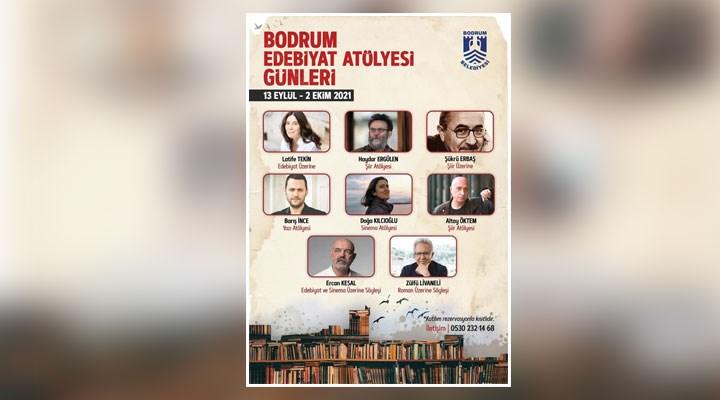'Bodrum Edebiyat Atölyesi Günleri' başlıyor