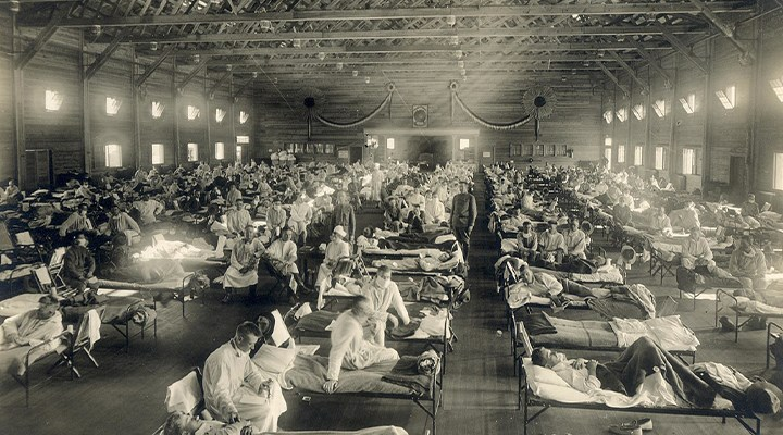 1918-1920 influenza pandemisinden Covid-19'a