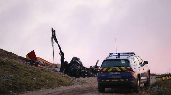 Fransa'da sivil güvenlik helikopteri düştü