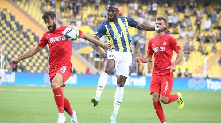 Kanarya, Sivasspor'a takıldı: 1-1