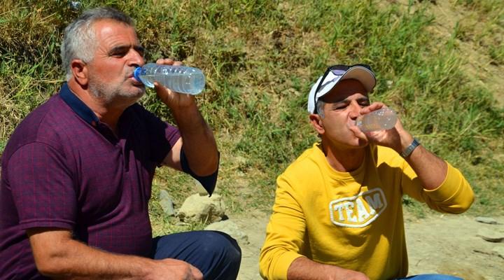 Muş'ta mikrop saçtığı tespit edilen su, 'şifalı' sanılıp içiliyor