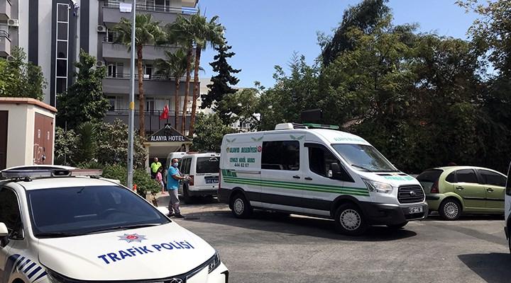 Alanya'da elektrik akımına kapılan otel çalışanı öldü