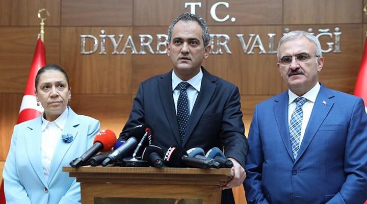 Bakan Özer: Diyarbakır'da 21 sınıfta eğitime ara verildi