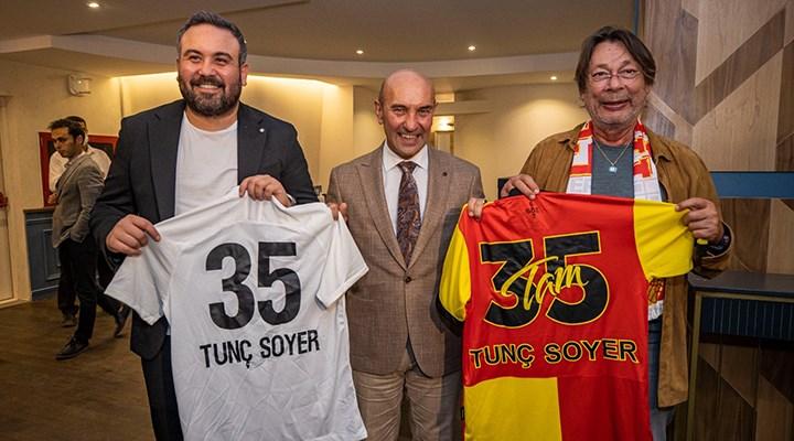 İzmir derbisi öncesi Altay ile Göztepe'nin kulüp başkanları buluştu
