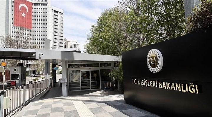 Dışişleri Bakanlığı: 9 AB üyesinin imzaladığı bildiri taraflı ve vizyonsuzdur