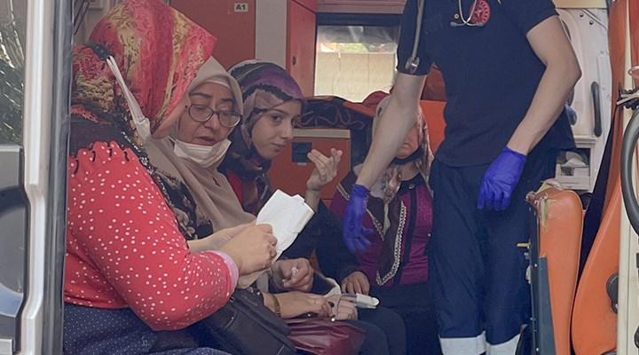 Beyoğlu'nda tekstil atölyesinde yangın: 9 kişi dumandan etkilendi