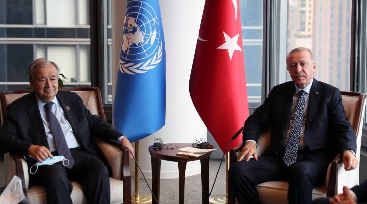 Erdoğan Guterres ile görüştü: Gündemde Afganistan ve Kıbrıs var