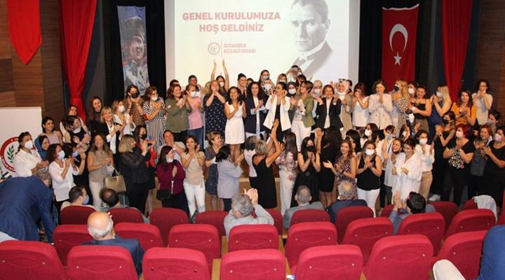 Şeker Pınar Özcan, İstanbul Eczacı Odası'nın ilk kadın başkanı oldu