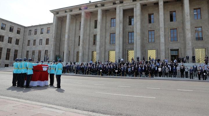 Eski CHP Milletvekili Şahin Mengü son yolculuğuna uğurlandı