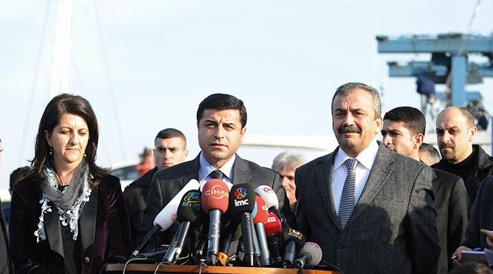 HDP yönetiminden sessizlik talimatı