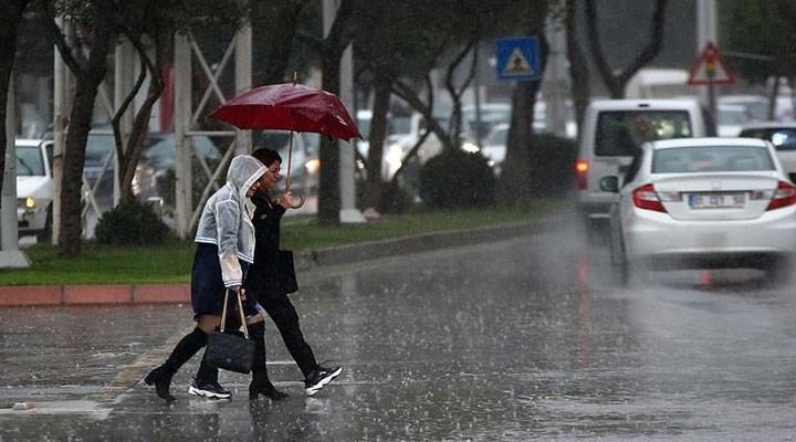 Meteoroloji'den şiddetli sağanak uyarısı
