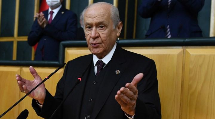 Bahçeli, CHP ve AYM'yi hedef aldı: 'Kirli bir temas hattı', 'Kripto mesajlaşma'