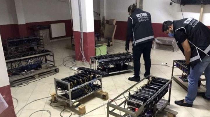 İstanbul'da kripto para operasyonu: 84 cihaz daha ele geçirildi