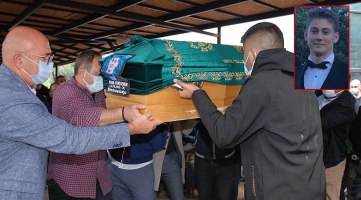 Kartal'da cansız bedeni bulunan Arda Yurtseven son yolculuğuna uğurlandı