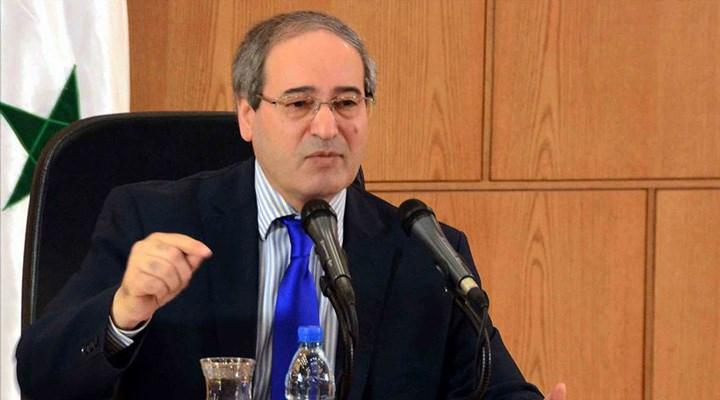 Suriye Dışişleri Bakanı'ndan 'işgal' açıklaması: Türkiye güçlerini geri çekmeli