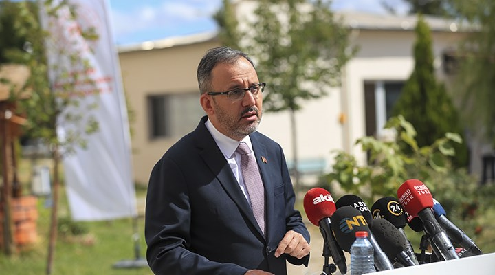 Bakan Kasapoğlu'ndan yurt açıklaması