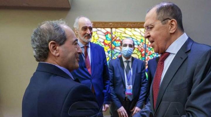 Mikdad ve Lavrov: Suriye topraklarındaki meşru olmayan yabancı güçler çıkmalı