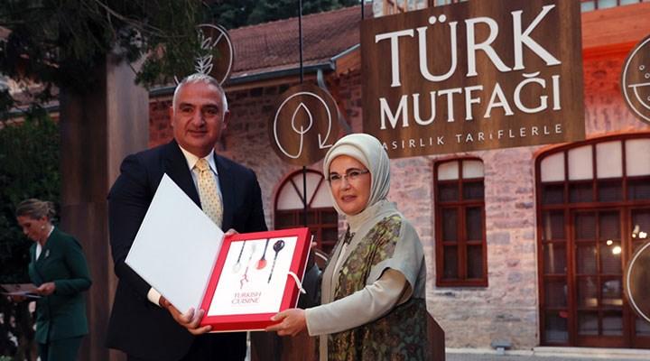 Emine Erdoğan'ın kitabının masrafını bakanlık karşıladı
