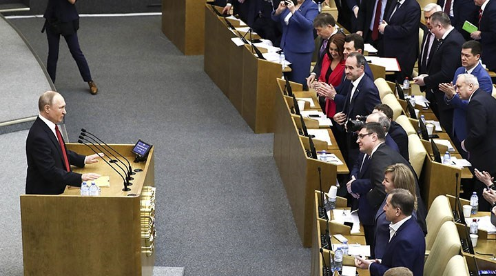 Rusya'da Komünist Parti, Duma seçim sonucunu protesto etti