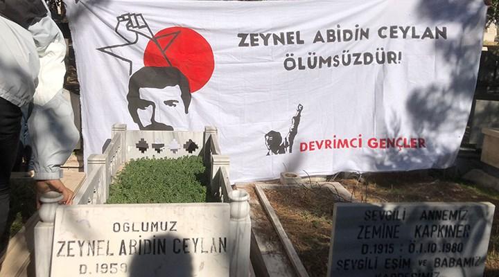 41 yıl önce işkencede öldürülen devrimci öğretmen Zeynel Abidin Ceylan anıldı