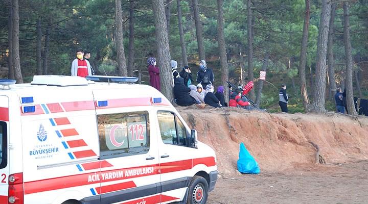 İstanbul'da Aydos Göleti'ne giren kişi kayboldu