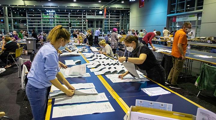 Almanya'daki genel seçimlerde sayım tamamlandı: Partilerin oy oranları