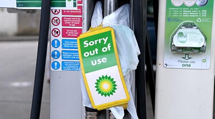 BP istasyonlarının 3'te 1'inde akaryakıt kalmadı