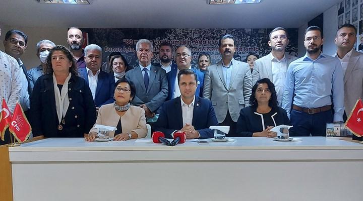 CHP İzmir İl Başkanı Deniz Yücel:Geleceğimizi karanlıktan kurtaracağız