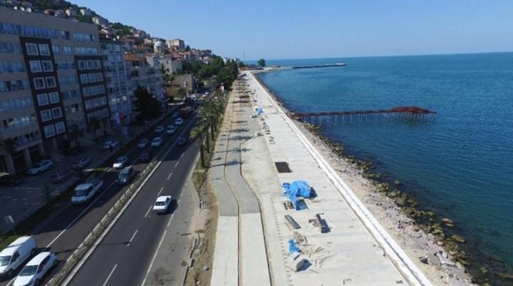 Ordu sahil düzenleme projesini bilirkişi uygun görmedi