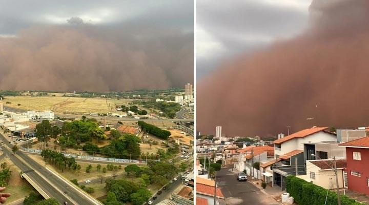 Sao Paulo kumlar altında