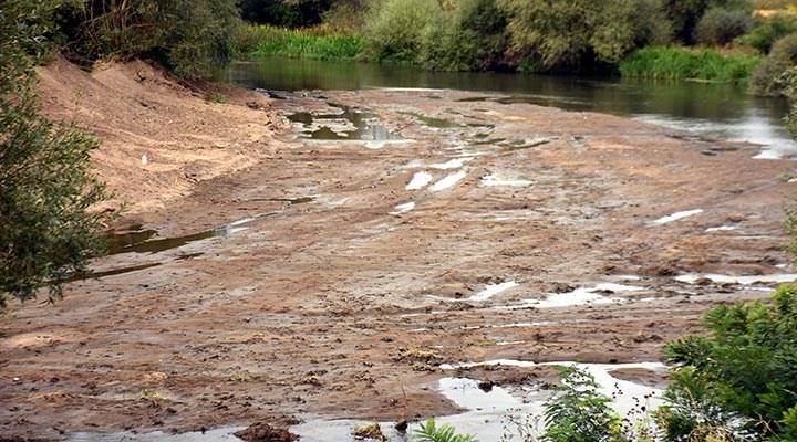 Kuraklık: Tunca Nehri dip seviyede