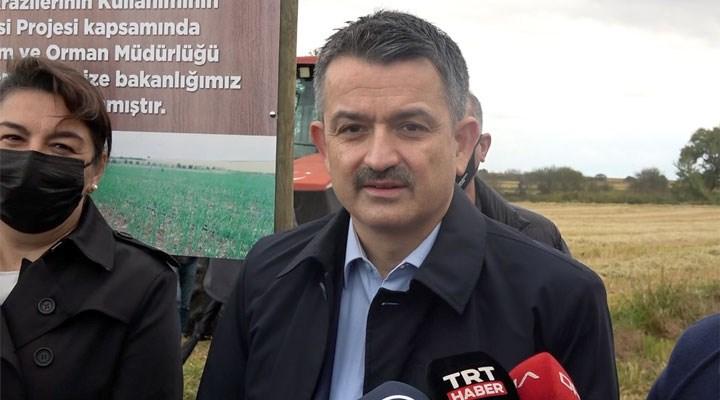 Tarım Bakanı Pakdemirli: Suya bundan sonra mücevher gibi davranmamız gerekli