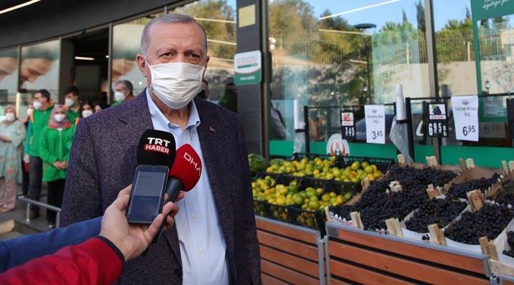 Erdoğan fahiş fiyatlara karşı kooperatifleri 'keşfetti': Süratle çoğaltılacak