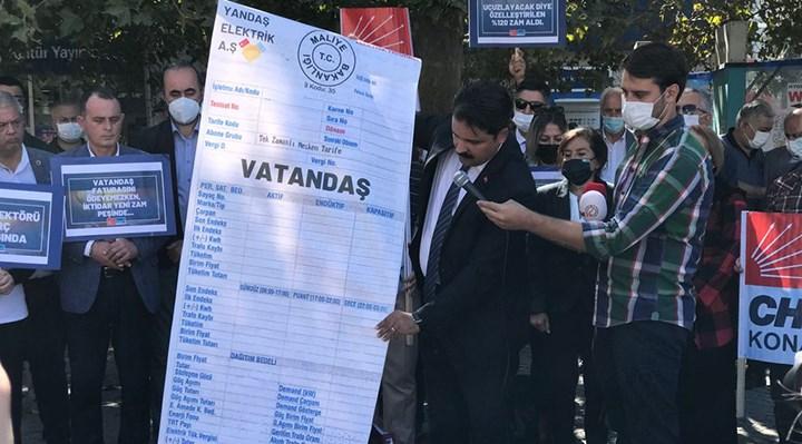 CHP Konak: AKP yanlış politikalarının faturasını vatandaşa kesti