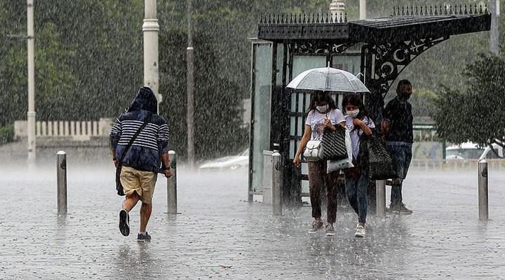 Meteoroloji'den İstanbul başta olmak üzere birçok ile sağanak uyarısı