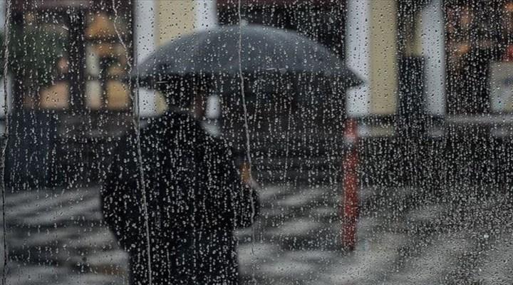 Meteoroloji'den Marmara'nın batısı için kuvvetli yağış uyarısı