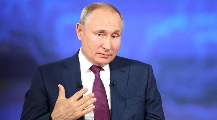 """Putin'den, """"gaz fiyatlarını kasıtlı yükselttikleri"""" suçlamalarına yanıt"""
