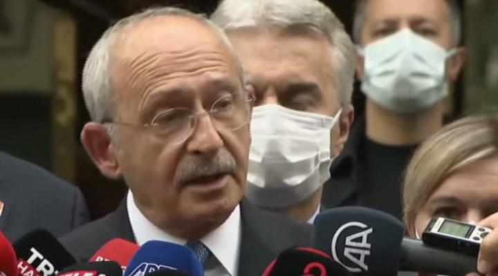 Kılıçdaroğlu, Kavcıoğlu ile görüştü, Erdoğan'a çağrı yaptı: Merkez'in kurumsal kimliğine saygı göster