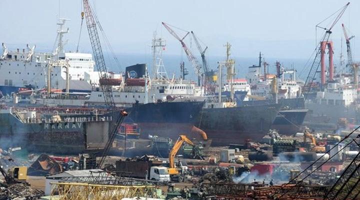Aliağa gemi ve asbest çöplüğü