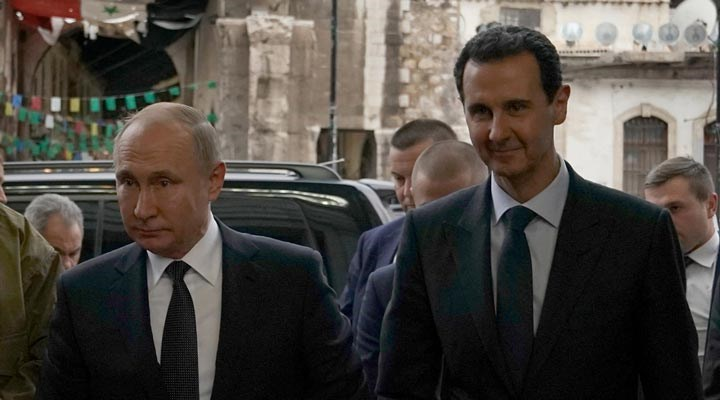 Şam'da Rusya-Esad teması: Putin'in mesajını ilettiler