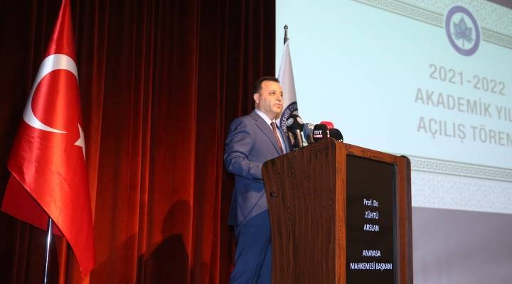 AYM Başkanı: İdari, mali ve bilimsel özerklik üniversite özerkliğinin ayrılmaz unsurlarıdır