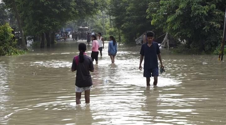 Hindistan'ın güneyinde şiddetli yağış   Can kaybı 24'e yükseldi
