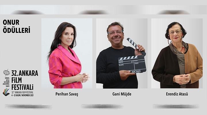 32. Ankara Film Festivali'nin Onur Ödülleri Açıklandı