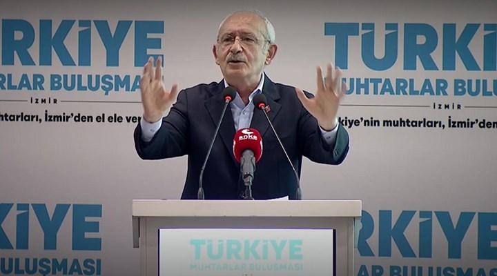 Kılıçdaroğlu, muhtarlara seslendi: Türkiye bir kişinin iki dudağına emanet edilemez