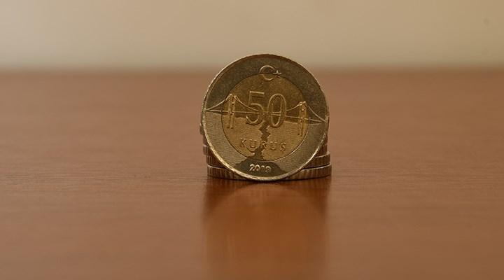 50 kuruş için kullanılan madenlerin maliyeti 66 kuruş oldu