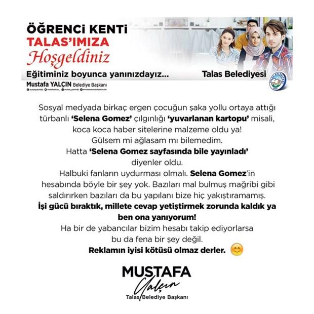 talas-belediye-baskani-ndan-turbanli-selena-gomez-aciklamasi-628868-1.